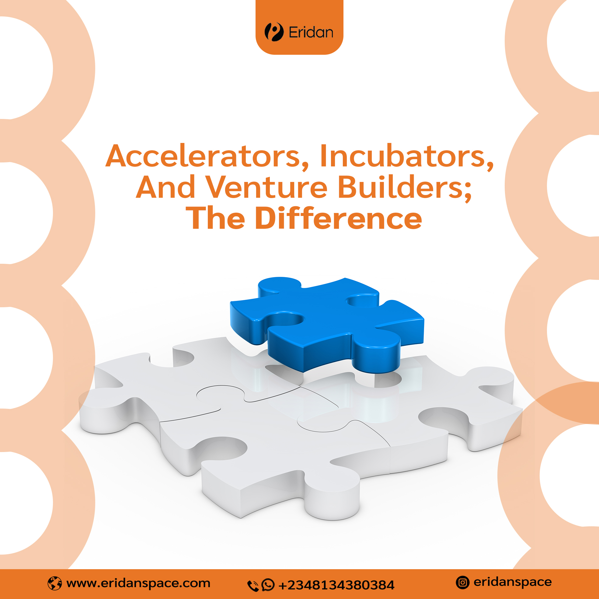 Accelerators, Incubators and Venture builders: The difference